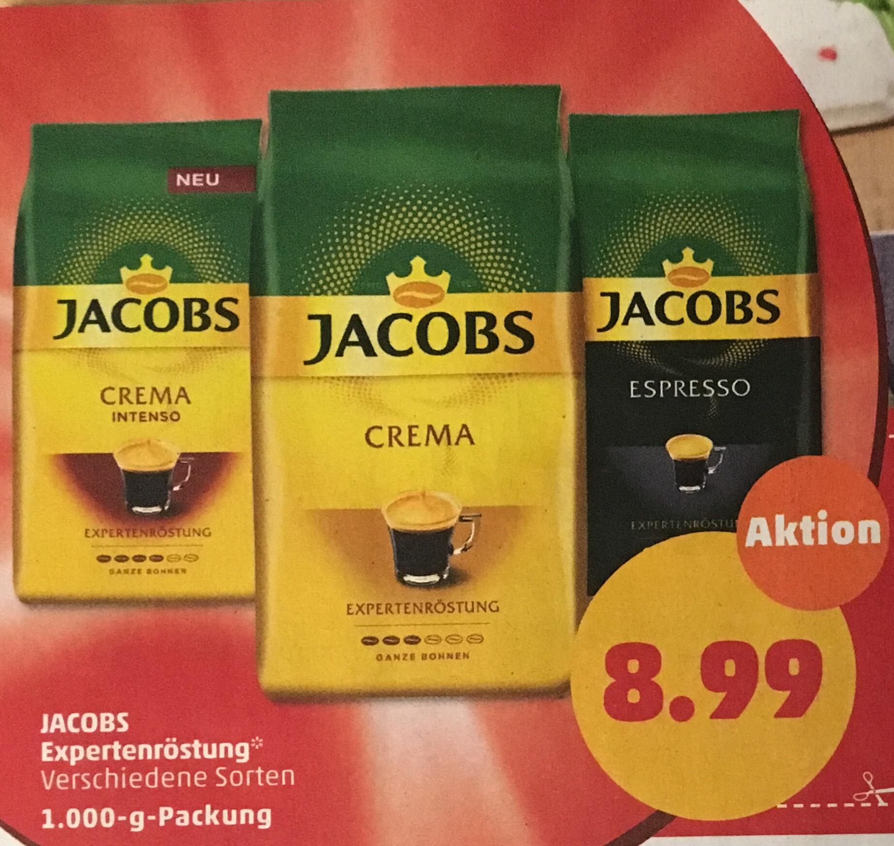 [Penny] ab 4.6. Jacobs Expertenröstung 1kg Packung für 6,99€ (Aktionspreis abzgl. Prospektcoupon)