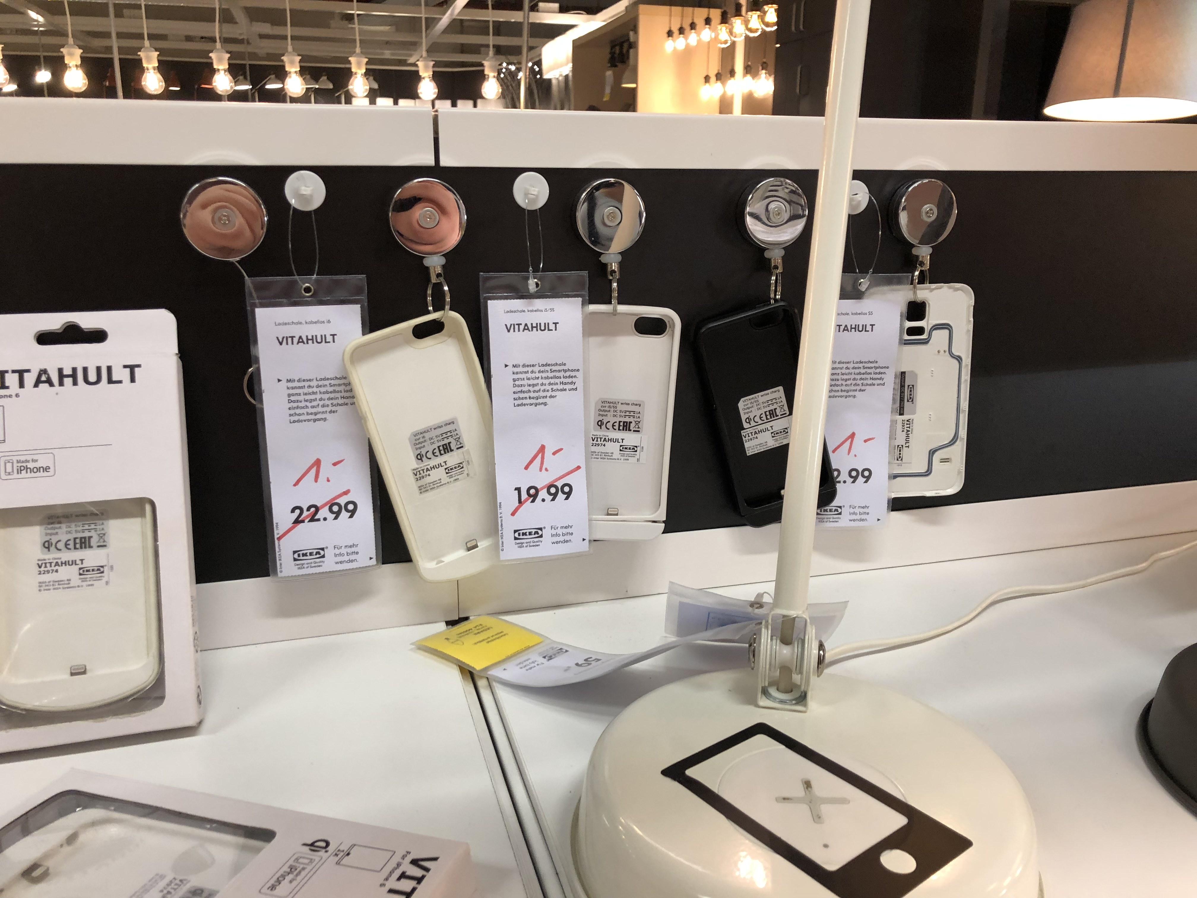 Ikea [Lokal Essen] QI-Ladeschale für Apple & Samsung