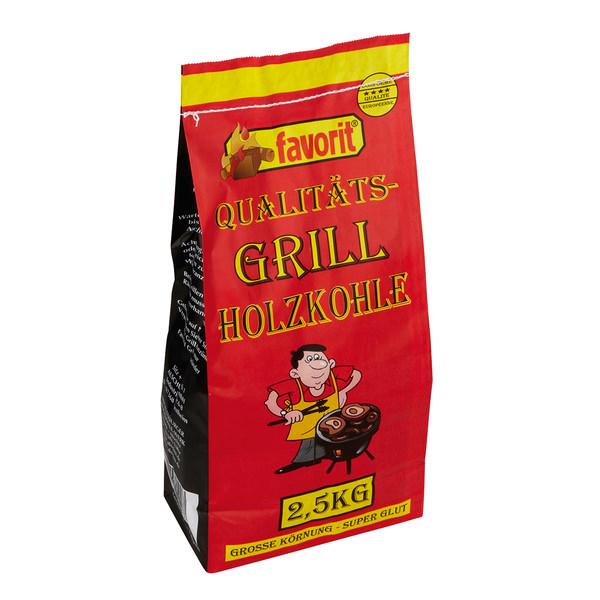 [KODI OFFLINE] Favorit Qualitäts-Holzkohle 2,5kg für 1,22€