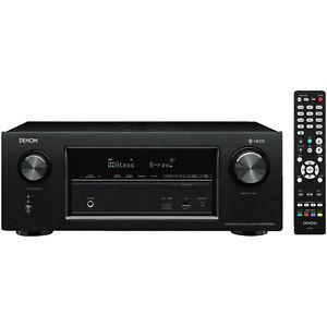 [saturn@eBay / saturn] Denon AVR-X3400H 7.2 Surround AV-Receiver (HEOS Integration, Dolby Vision Komtabilität, Dolby Atmos, dtsX, WLAN, Bluetooth, Amazon Music, Spotify , 8x HDMI In, 3x HDMI Out, 7 x 180 W) schwarz + 40/60€ Cashback