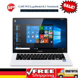"""CHUWI LapBook14.1 PC Laptop 14.1"""" HD IPS Win10 Quad Core Intel 4+64GB Dual WIFI Preisvorschlag in Höhe von 120,00€ akzeptiert!"""