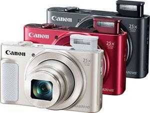 [Media Markt / Amazon] CANON Powershot SX620 HS Digitalkamera (20.2 Megapixel, 25x opt. Zoom, TFT, WLAN) als Essential Kit (Kameratasche, 8GB SDHC) in schwarz, rot oder weiß