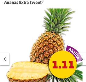 Ananas Extra Sweet aus Costa Rica 1.11€ [Penny]