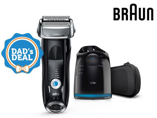 Braun Series 7 7880cc Wet & Dry Herrenrasierer mit Reinigungsstation