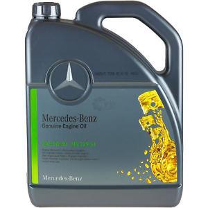 SAE 5W-30 Motoröl Synthetik Mercedes Benz 5 Liter MB 229.51