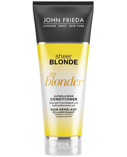 Kostenloses Produktpaket von John Frieda für Blonde Haare  [Freebie]