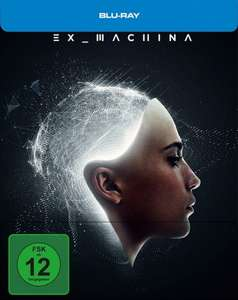 Ex Machina Limited Steelbook Edition (Blu-ray) für 9,76€ (Media-Dealer)