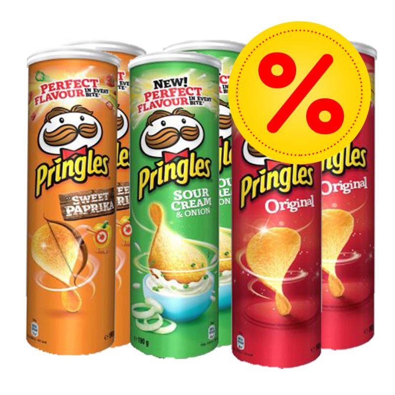[Samstag Netto] Pringles verschiedene Sorten Original Pizza Paprika ...