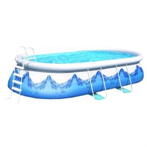 Wehncke Quick-Up-Pool Manhattan 610x366x122 cm mit Filterpumpe 18109 @ www.spar-toys.de