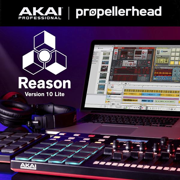 """[Musiker-Deal] Reason 10 Lite gratis zu ausgewählten Akai und Korg Geräten, auch für schon gekaufte Geräte! Bei Aktivierung bis 13 Juni zzgl. kostenlosem """"Drum Sequencer"""""""