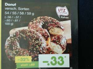 Netto MD: Donut für 0,33€ (ab Do. 07.06.)
