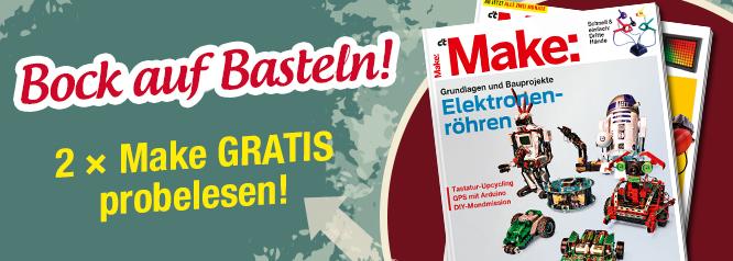 [Heise] Make Magazin 2x gratis lesen (Print) - Kündigung notwendig!