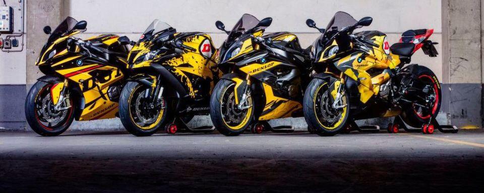 S1000RR oder ZX10R kostenlos fahren. Dunlop TT Bikes