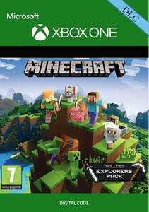 Minecraft: Explorers Pack DLC (Xbox One Digital Code) für 1,04€ (CDKeys)