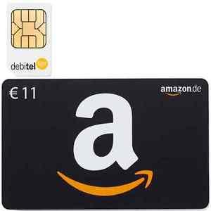 [eBay] debitel light SIM-Karte + 11 € Amazon-Gutschein