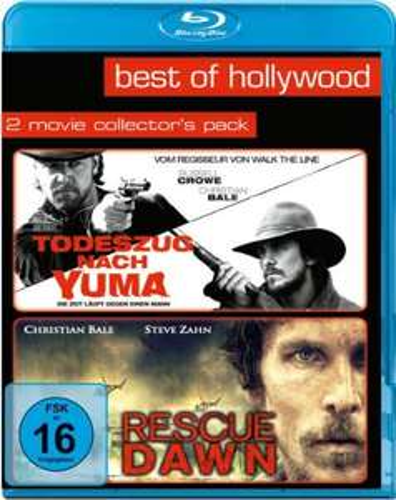 Todeszug nach Yuma & Rescue Dawn Best of Hollywood Collection (2 Disc Blu-ray) für 8,60€ (Amazon Prime & Dodax)