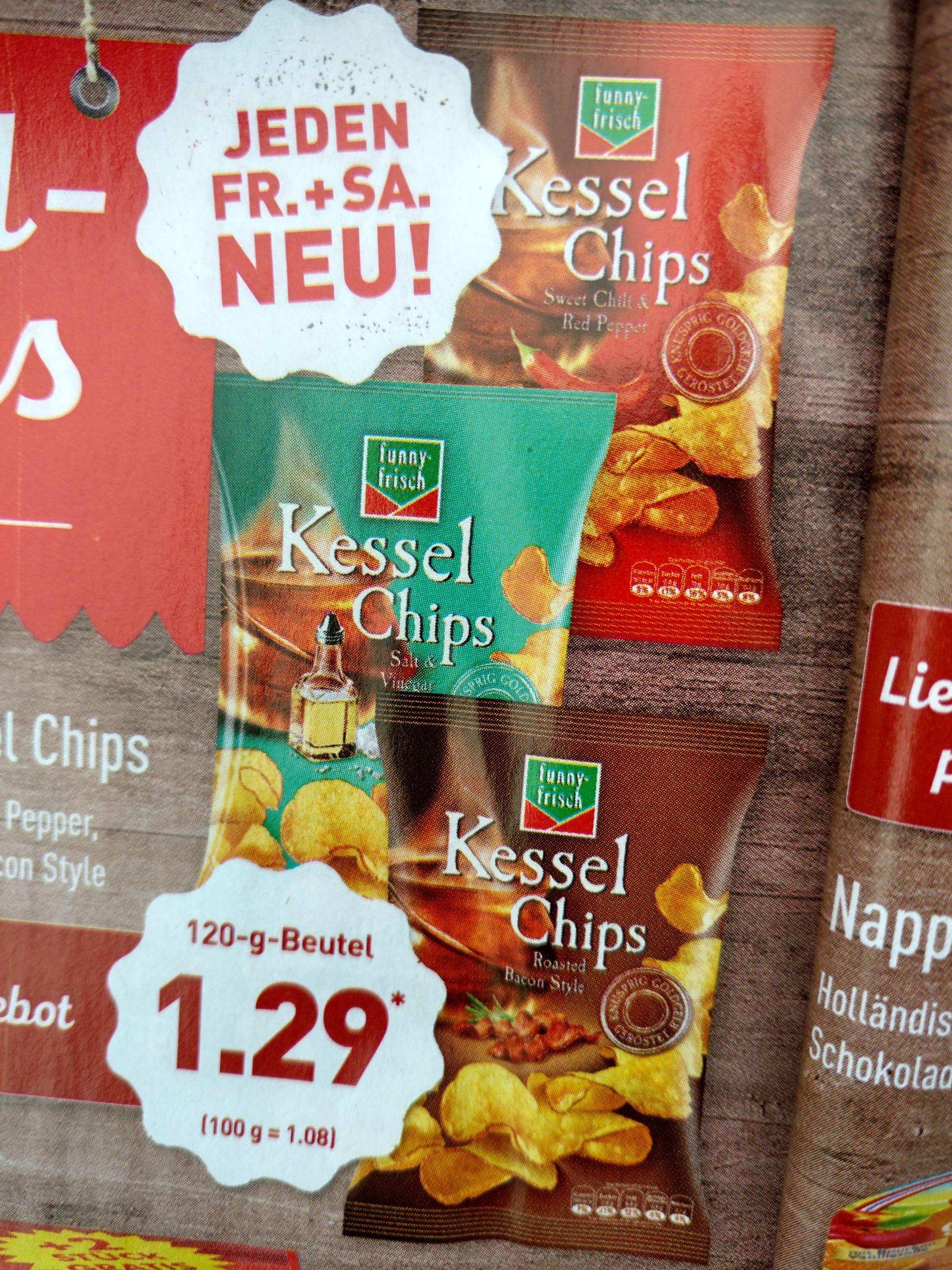 Aldi Nord Funny Frisch Kesselchips