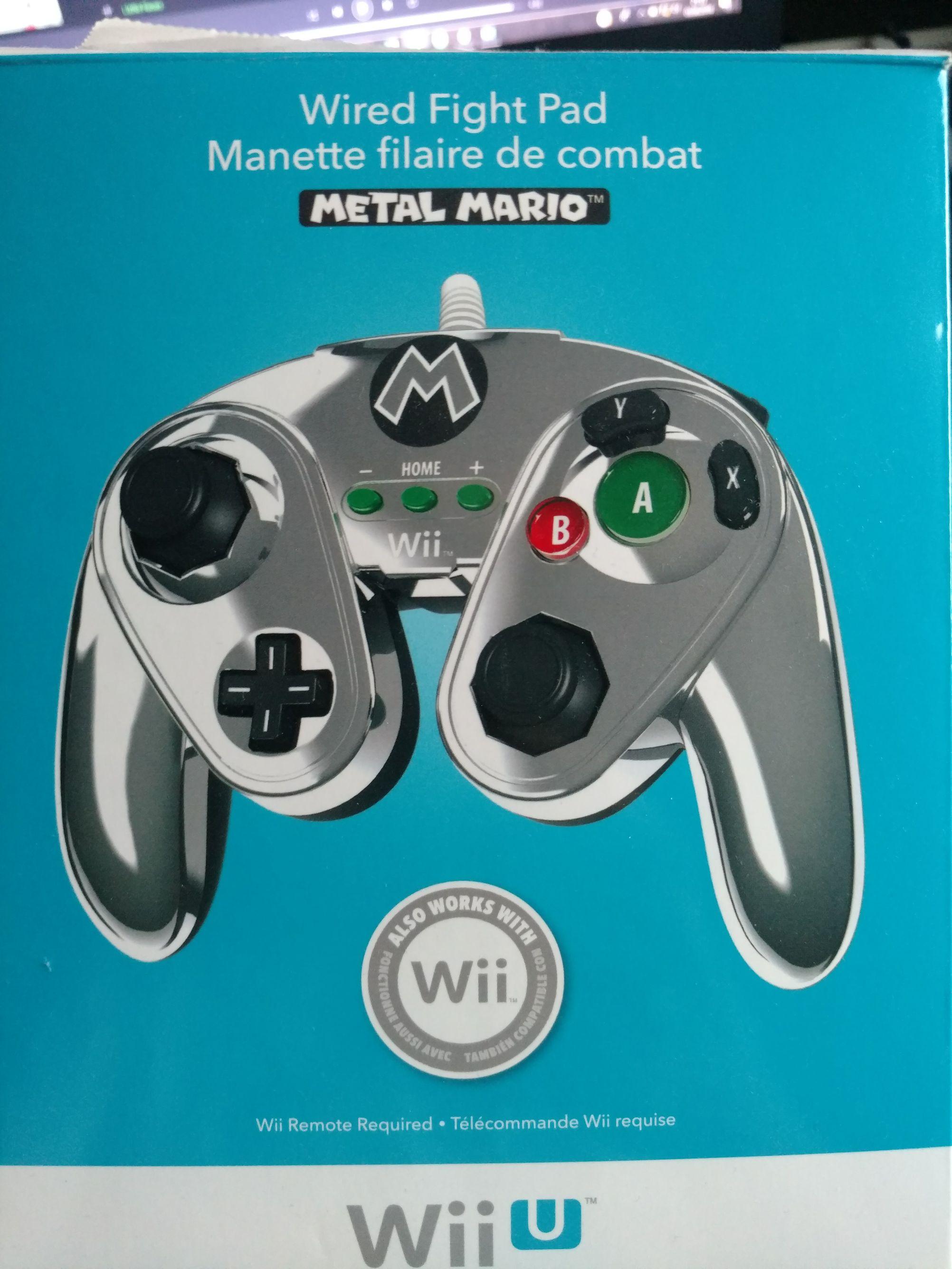 [Saturn Bremen] WiiU GameCube wired Fight Pad {Könnte ausverkauft sein}