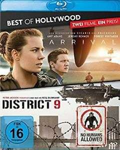 Arrival / District 9 Blu-ray