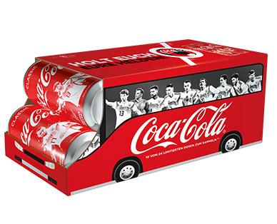 Coca Cola 10x 0,33l für 3,59€ (EUR 1,09/l) zzgl. 2,50€ Pfand bei Aldi Süd