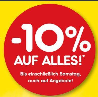 [Regional Netto Sarstedt ab 05.06] 10 % auf das Gesamte Sortiment..inc. Angebote + 10,-€ Gutschein bei 80,-€ Einkaufswert