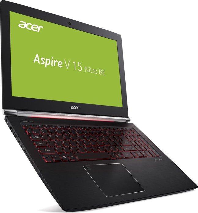 Acer Aspire V15 Nitro Gaming-Notebook (15,6'' FHD IPS matt, Geforce 1060/6GB, i7-7700HQ, 8GB RAM, 512GB SSD, Thunderbolt 3) für 888€ [NBB]