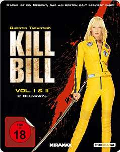 Kill Bill: Volume 1+2 Steelbook (Blu-ray) für 12,97€ (Amazon)