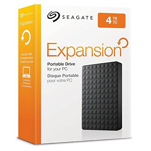 4 TB externe 2,5 Zoll Festplatte USB 3.0 Seagate STEA4000400 2018 Edition bei Amazon
