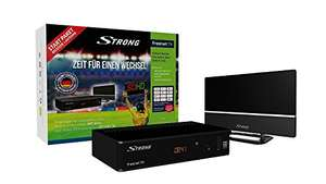 [amazon.de] Strong SRT 8541 DVB-T2 freenet Starter Kit (Receiver plus Zimmerantenne]