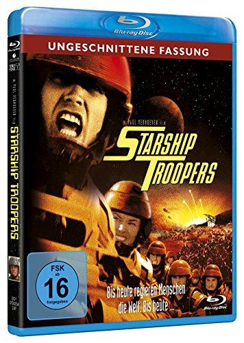 Starship Troopers - Ungeschnittene Fassung [Blu-ray] für 9,97 EUR (Amazon Prime)