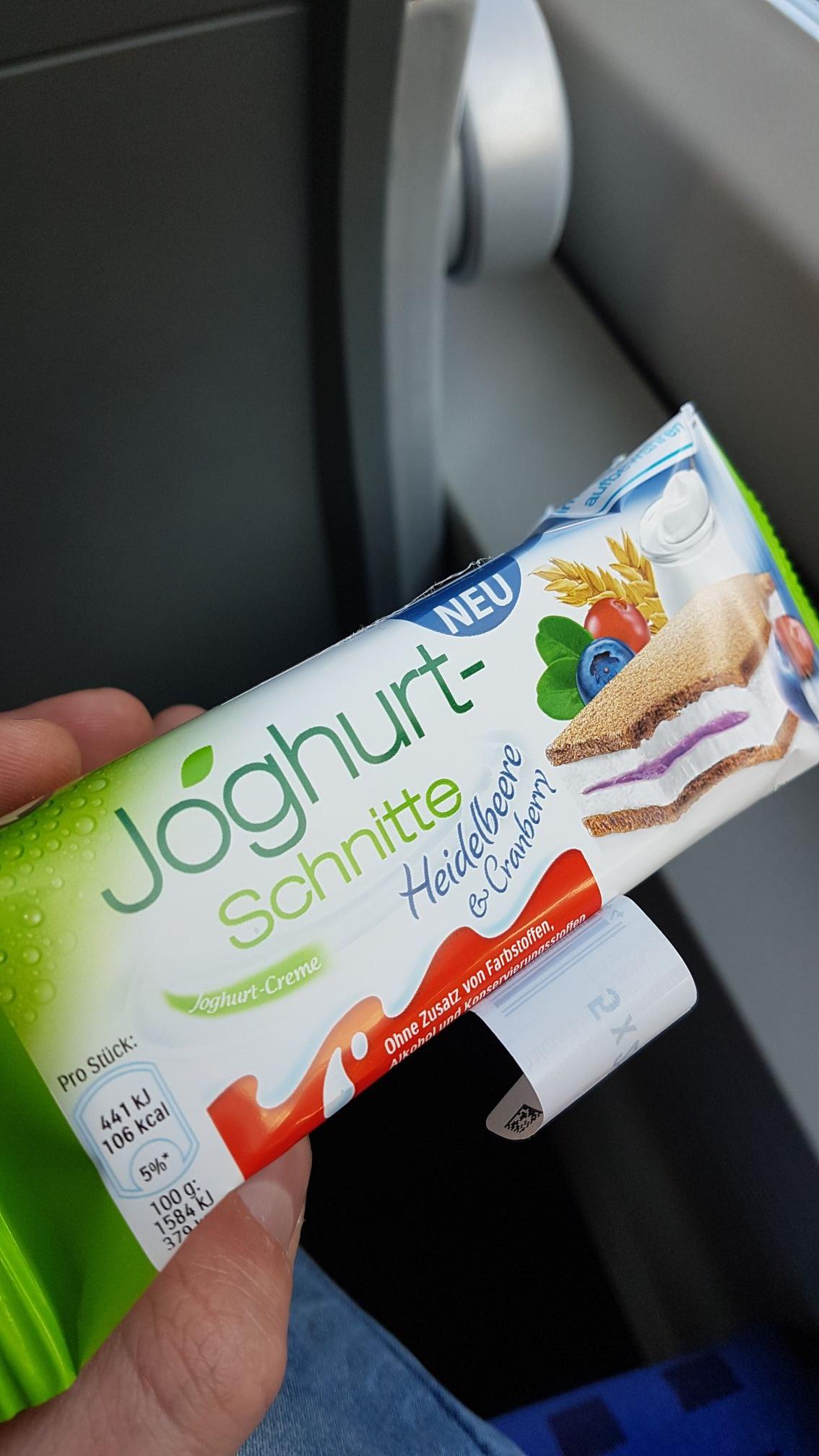 [Lokal] Joghurtschnitte kostenlos probieren Würzburg Hauptbahnhof