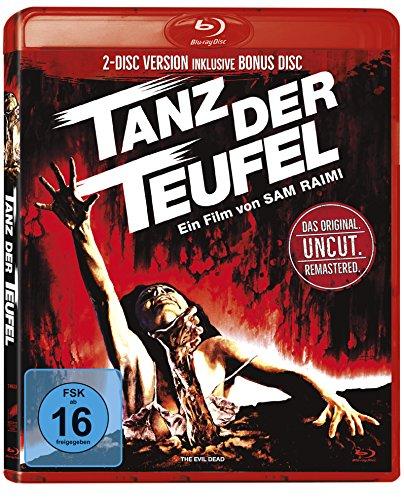 Tanz der Teufel - Uncut (Remastered Version inkl. Bonus Disc 2 Discs in roter Amaray) [Blu-ray] für 8,97 EUR (Amazon Prime)