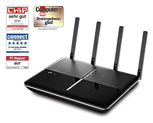 [amazon]  TP-Link Archer VR2800v AC2800 WLAN-Telefonie-DSL-Router (V35b/VDSL-/ADSL-Modem, 802.11ac/h, DECT Basis und Mediaserver)