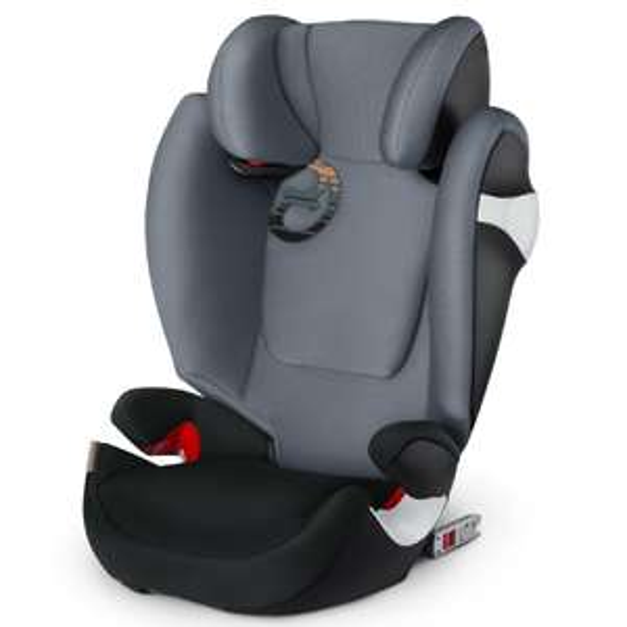 cybex Gold Kindersitz Solution M-fix in grau oder rot // Gruppe 2/3 (15 - 36kg)