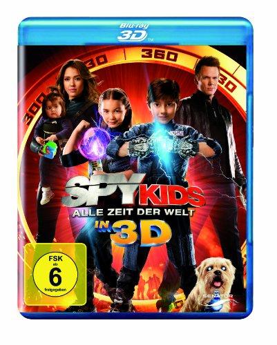 [Amazon/Dodax] Spy Kids - Alle Zeit der Welt in 3D [3D Blu-ray] für 9,97€ (Amazon Prime)