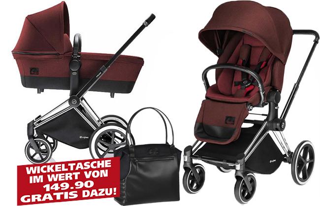 (Outletcity Metzingen) Cybex Priam mit Lux Seat, Wanne & Wickeltasche