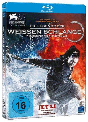 Die Legende der weißen Schlange (Steelbook Blu-ray) für 5,97€ (Amazon Prime)