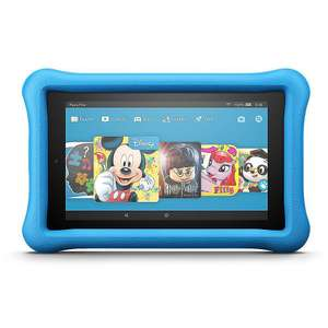 Doppelpack: 2x Amazon Fire 7 Kids Edition Tablet WiFi 16 GB Kid-Proof Case blau oder pink oder Fire HD 8 Kids Edition 32GB
