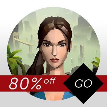 """Lara Croft GO, Deus Ex GO und Hitman GO (""""80% off"""") @ Google Play Store für je 1,09€"""