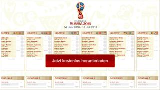 WM-Spielplan als PDF