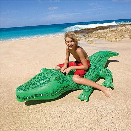 myDealzer Krokodil Schwimmreittier für unsere junge Generation [Prime]
