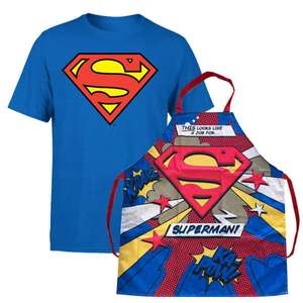 Superman T-Shirt + Superman Schürze für 12,54€ (Zavvi)