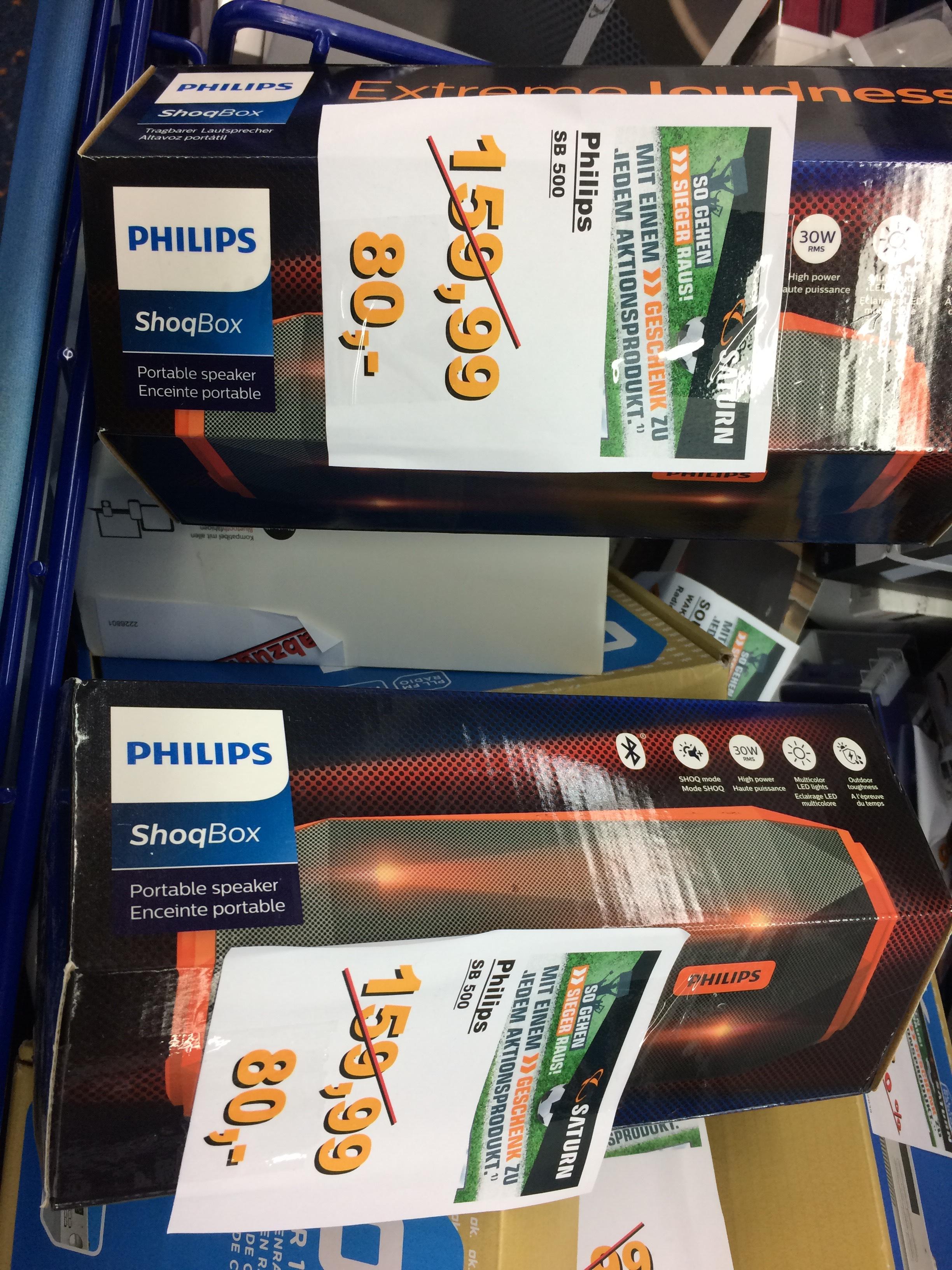 *LOKAL OSNABRÜCK* Philips SB 500 Lautsprecher Speaker