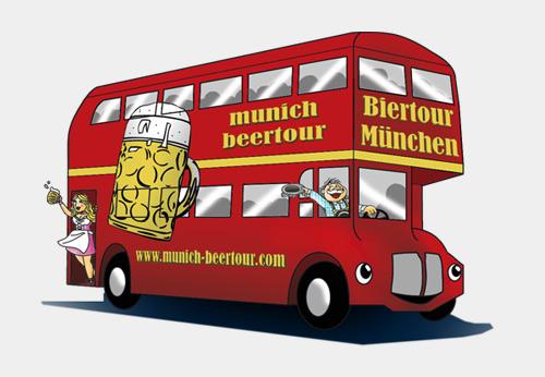 Kostenlos mit dem Bus von München nach Berlin am 07.06. inkl. Getränke von Paulaner
