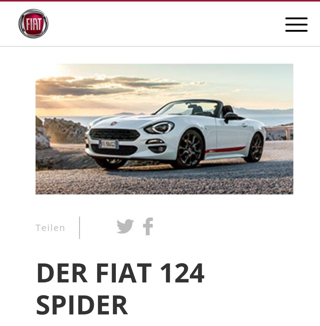 FIAT 124 Spider Lusso 149€ mtl. OHNE ANZAHLUNG2 MIT 4 JAHREN FIAT GARANTIE*