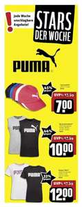 (offline) Rewe Center: Puma Shirts ab 10,-€ +Caps für 7,-€