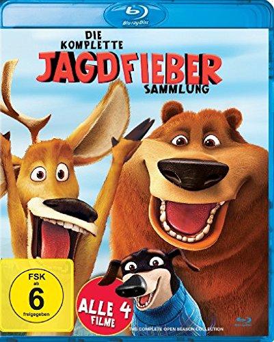Die komplette Jagdfieber Sammlung 4-Filme Set (Blu-ray) für 11,97€ (Amazon Prime & Dodax)