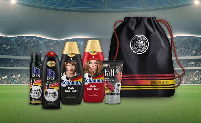 [Amazon Sammeldeals] Henkel Produkte z.B. Fa, Duschdas, Schwarzkopf, etc. für 15 EUR kaufen + GRATIS Original DFB Sportbeutel