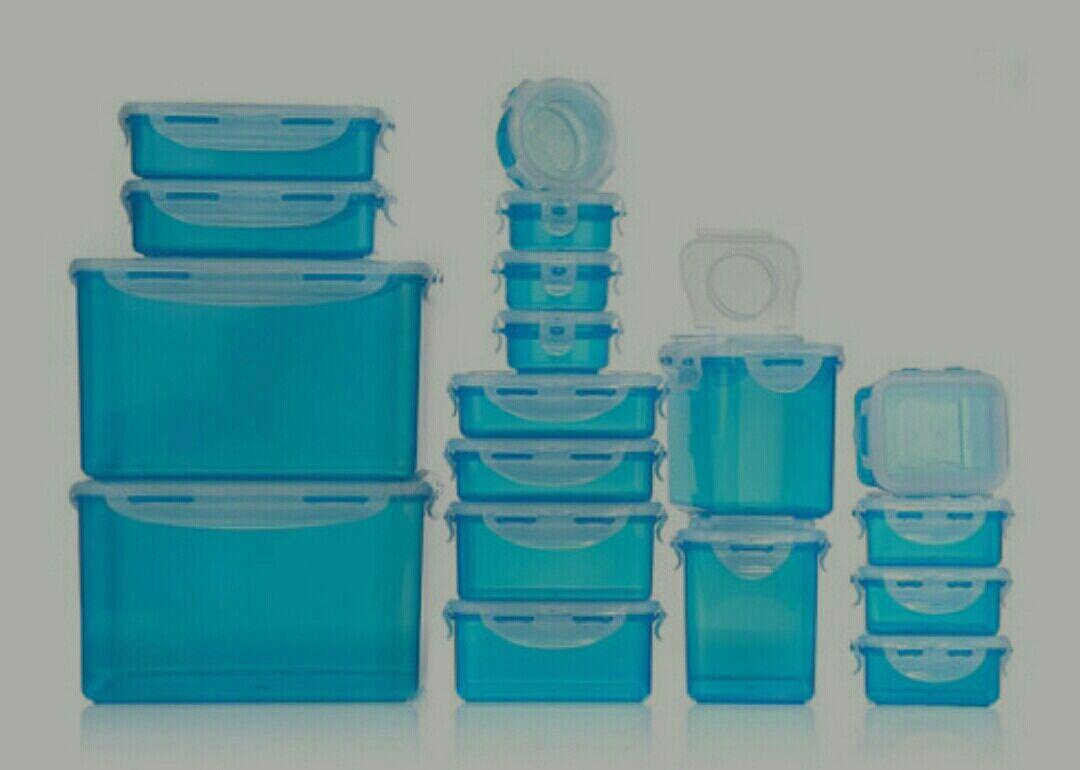 LOCK&LOCK Frischhaltedosen 18 Teilig, in 9 Farben[Neukunden]