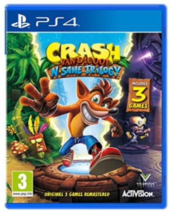 Crash Bandicoot: N. Sane Trilogy (PS4) für 23€ (Base.com)